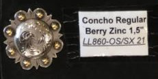 16 Concho Regular Berry Zinc